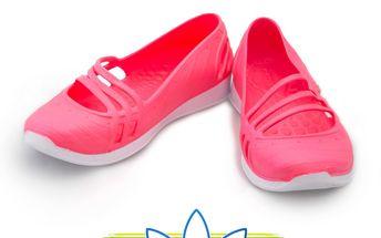 Balerínky Adidas v růžové barvě