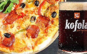 Pizza s Kofolou Originál