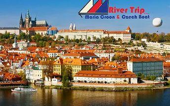 Plavba lodí po Vltavě - výběr ze tří variant!