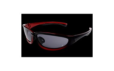 Sportovní brýle Alpine Pro černo-červené tmavé sklo