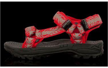 Dětské sandály Alpine Pro červené