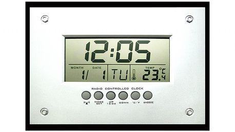 Time Life Budík řízený rádiem TL-208 - II. jakost