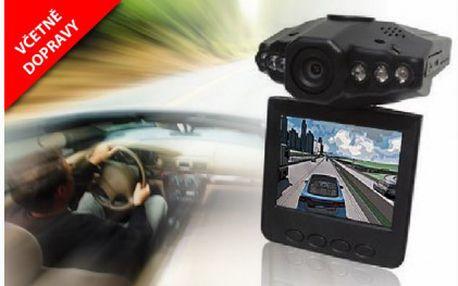 Přenosná DVR kamera do auta a interiérů za 799 Kč včetně dopravy! Kamera přínáší široký pozorovací úhel, noční vidění a záznam v HD kvalitě za neuvěřitelnou cenu.