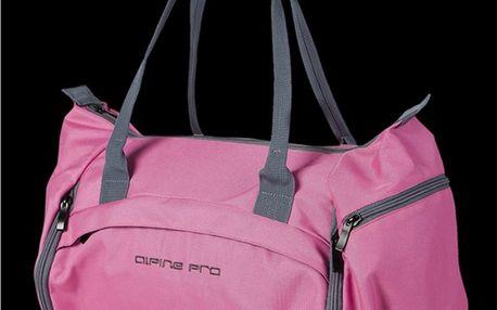 Sportovní taška Alpine Pro růžová