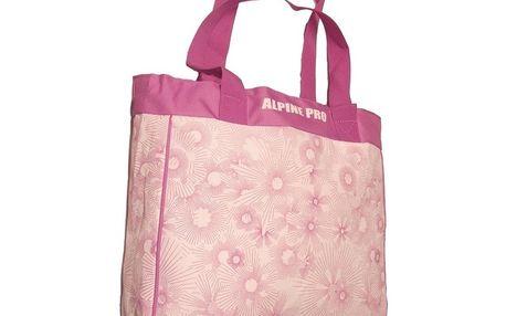 Dámská taška Alpine Pro růžová vzorovaná
