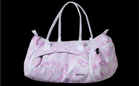 Dámská taška Alpine Pro růžovo-bílá