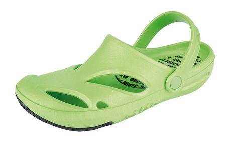 Dámské nazouvací boty Alpine Pro zelené