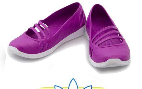 Balerínky Adidas ve fialové barvě