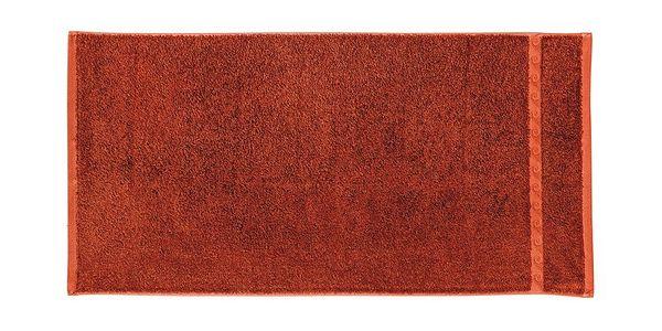 Ručník Wave 100x50, červený - měkký a vysoce savý