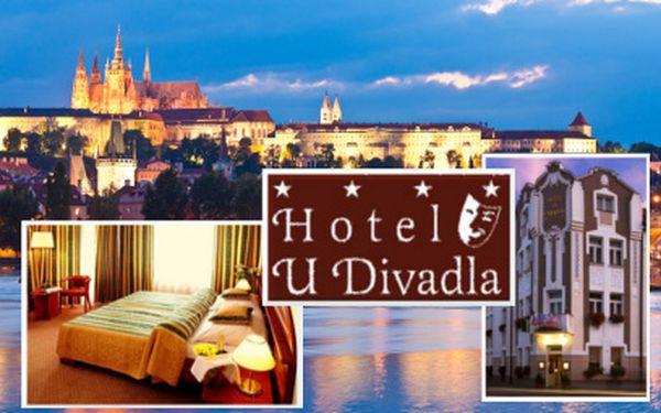 Pobyt pro DVA na 3 dny v Praze za 2390 Kč! Hotel U Divadla****!