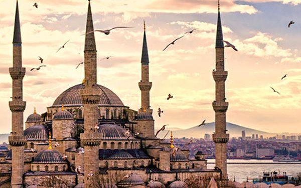Poznávací zájazd do Istanbulu na 4 dni