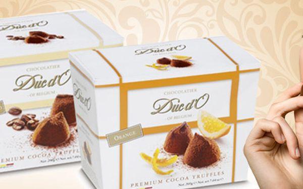 400 g čokoládových lanýžů Duc d'O