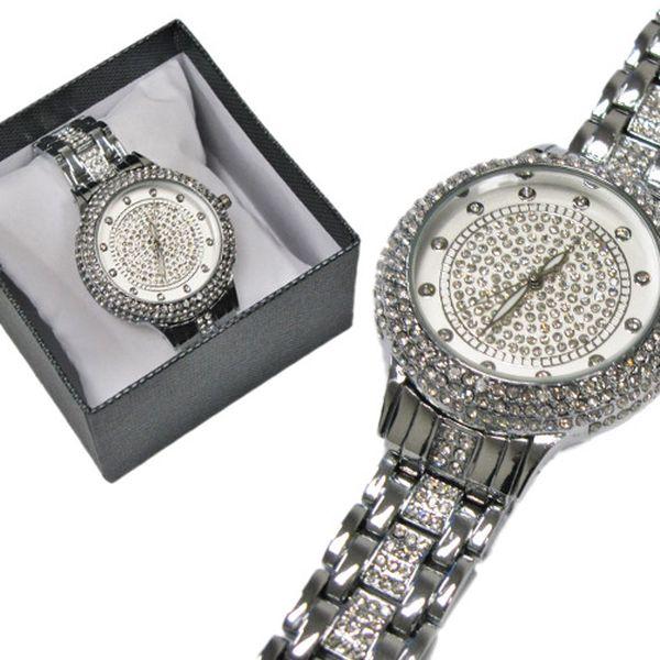 Stříbrné dámské hodinky