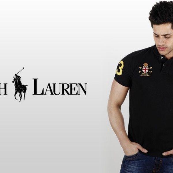 Elegantní polo trička Ralph Lauren s poštovným v ceně