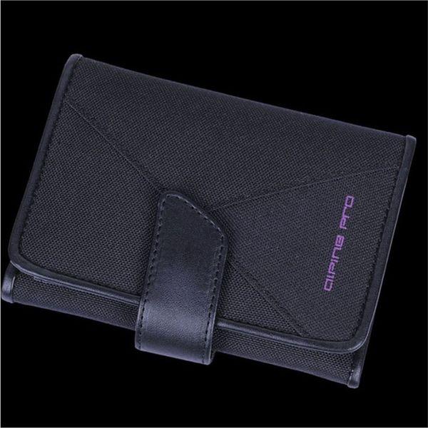Peněženka Alpine Pro černá fialové logo