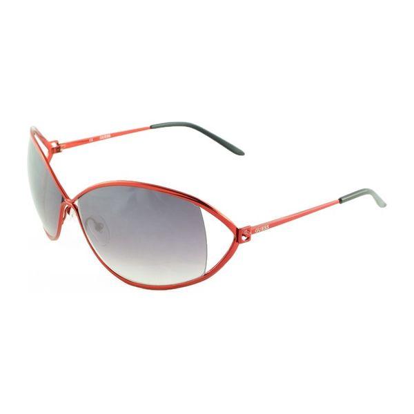 Dámské sluneční brýle Guess okrově červené