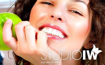 Neperoxidové bělení zubů LED lampou