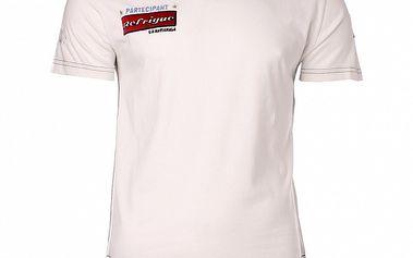 Pánské bílé tričko Refrigue s nášivkami