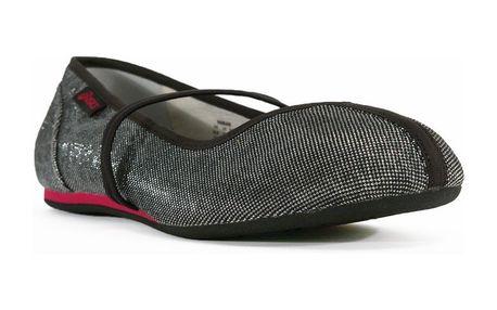 Dámské baleríny Asics stříbrno-černé