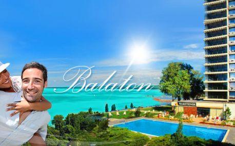 4 DENNÁ DOVOLENKA pri Balatone v 3 * Hoteli PRE DVOCH vrátane MASÁŽE len za 39 Eur! Luxusný odpočinok priamo na BREHU Balatonu v MAĎARSKU! Využite neuveriteľnú zľavu 83% a doprajte si dovolenku v termínoch do SEPTEMBRA!