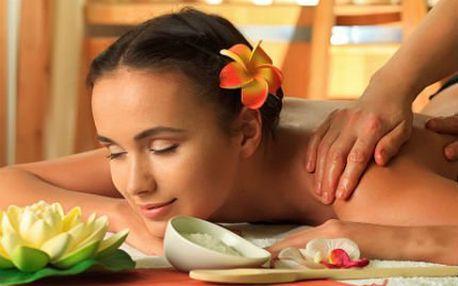 60minutová masáž dlev ýběru se slevou 52 %