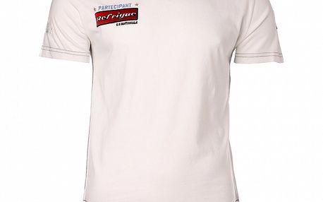 Pánske biele tričko Refrigue s nášivkami