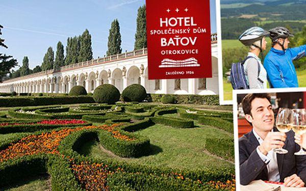 2-4denní pobyt pro dva v Hotelu Baťov***
