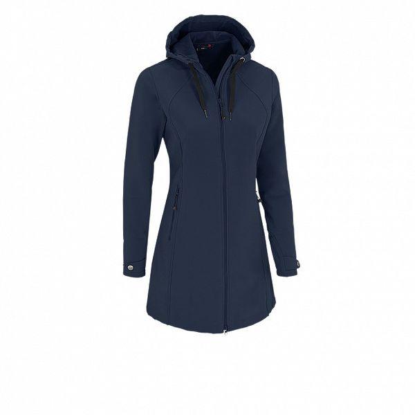 Dámsky tmavo modrý softshellový kabátik Maier s membránou