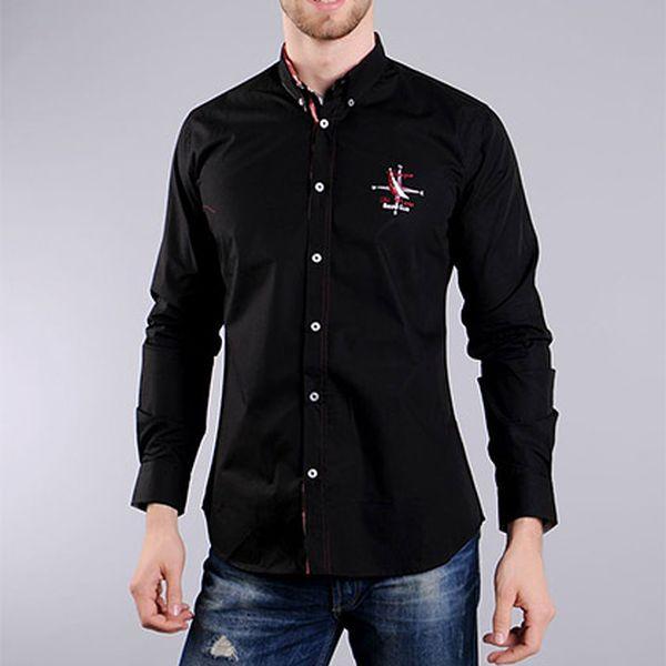 Černá košile Compass