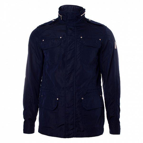 Pánska tmavo modrá bunda Refrigue