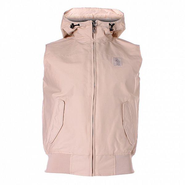 Pánská písková vesta Refrigue s kapucí