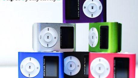 Mini MP3 přehrávač včetně doručení!