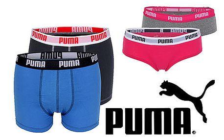 Dvoje kalhotky nebo boxerky Puma