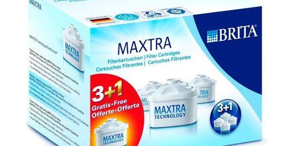 Filtrační konvice BRITA Maxtra patrony 3+1 - vyčistí až 150litrů vody