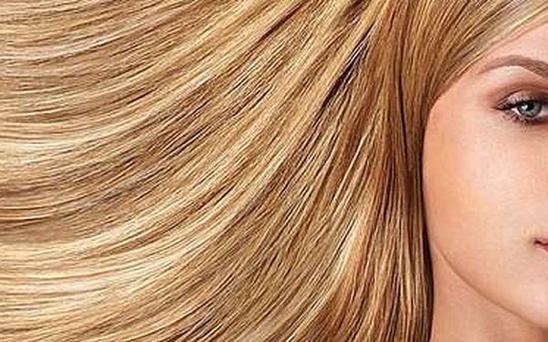 Módní střih a foukaná bez rozdílů délek vlasů + 25 % sleva na další úkony.