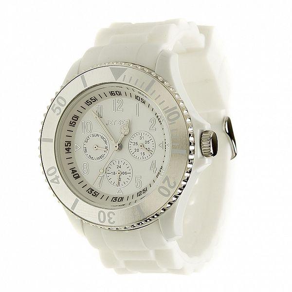 Dámske biele hodinky Jet Set