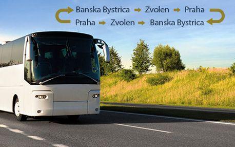 Dva cestovné lístky na linku BB/ZV - Praha