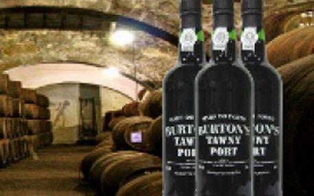 Portské víno Burton´s Tawny port