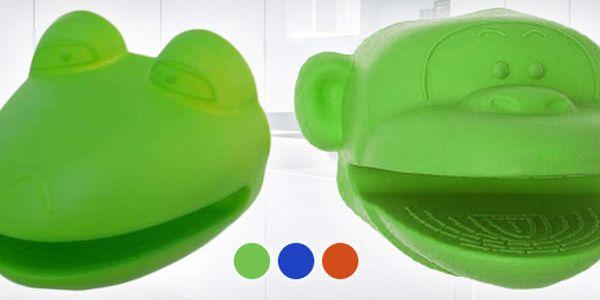 Dvě veselé silikonové chňapky - vybírejte ze 3 barevných variant!
