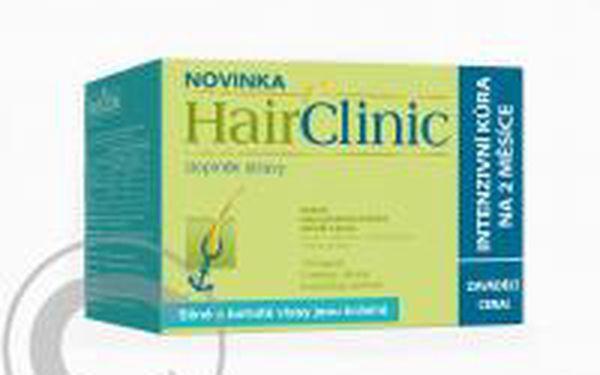 Hair Clinic kapsle 120 tbl. - vyživují vlasový folikul krevním řečištěm