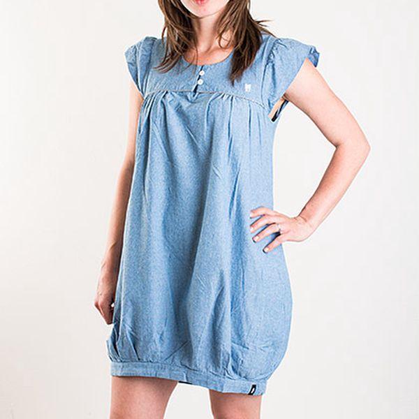Světle modré šaty Fenchurch