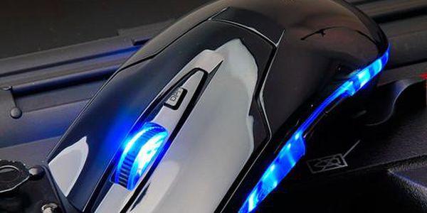 Profesionální herní myš s LED podsvícením a poštovné ZDARMA! - 126