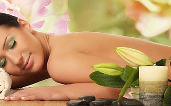 Indická ajurvédská masáž celého těla pomocí teplých olejů z Himalájí