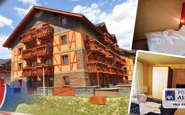 Tatragolf Mountain Resorts**** - Dovolená v Tatrách - Ubytování v luxusních apartmánech ve Veľké Lomnici - užijte si krásnou přírodu Tater. Pobyt na 3 a 7 dní