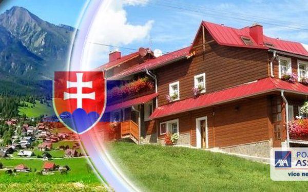 Úchvatné Tatry 2013 - Ubytování s polopenzí pro 1 osobu na 4, 5 nebo 6 dní v penzionu Blanka v pohádkových Belianských Tatrách! Platnost do konce října! Nádherná dovolená v krásné krajině!