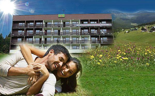 Čtyřdenní pobytový balíček s plnou penzí v hotelu Javor*** v centru Krkonoš
