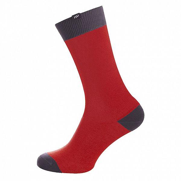 Dámské červeno-šedé ponožky Minga Berlin - 3 páry