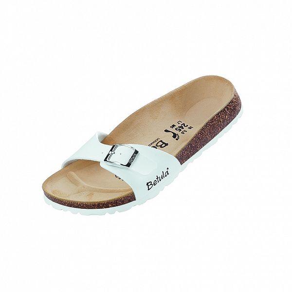 Dámské bílé pantofle Betula