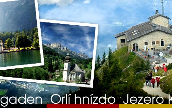 Výlet za krásami Bavorska (5. 7. 2013): Berchtesgaden, Orlí hnízdo a jezero Königsee