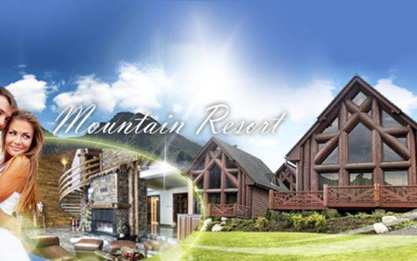 PŘEPYCHOVÁ 4 DENNÍ dovolená v Tatrách pro 4 dospělé a 2 děti v LUXUSNÍ CHATĚ Mountain Resort za 9 899 Kč! Chcete se cítit jako opravdová celebrita? S Hyperslevami si tento KOMFORT můžete dopřát! VOUCHERY platné do ŘÍJNA 2013!